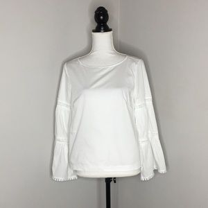 Nanette Lepore Boho Bell Sleeve Cotton Lac…